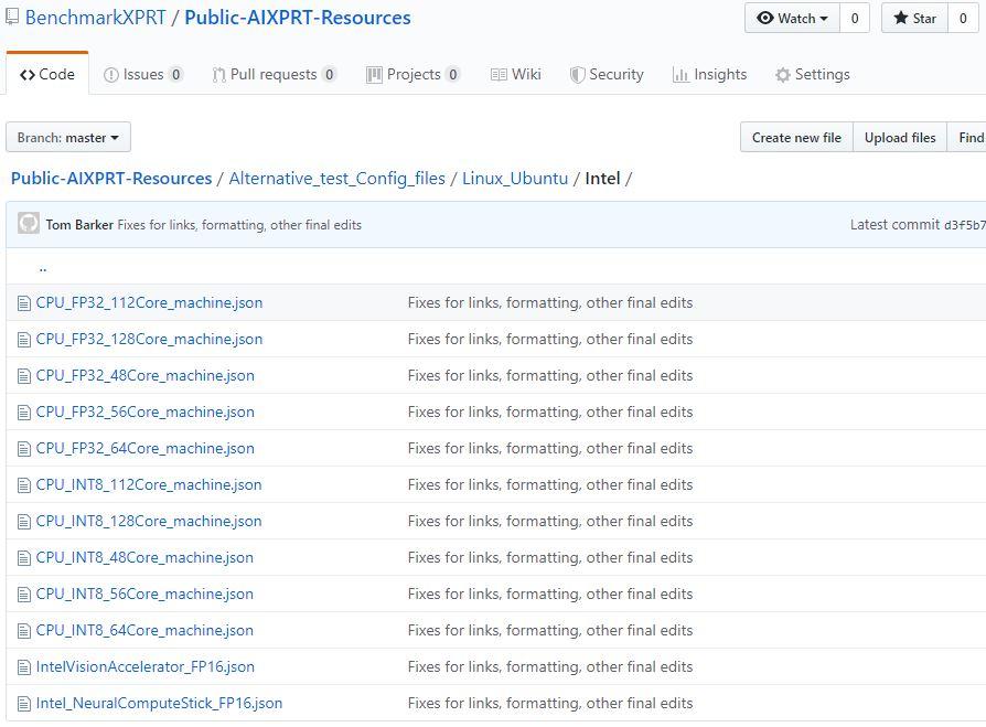 AIXPRT public repository snip 2