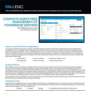 Dell EMC and Intel 14G interactive sales tool