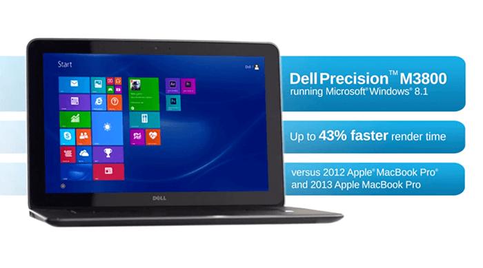 Spesifikasi Laptop Dell M3800 Dengan Desain Tipis Dan
