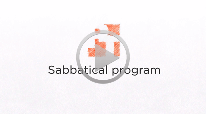 About PT sabbaticals (video)
