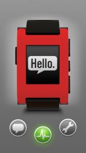 Pebble iPhone app